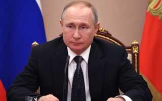 Путин продлил карантин
