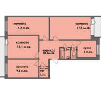 Брежневка планировка 3 комнатная