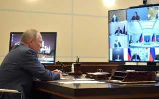 Путин продлил карантин до июня