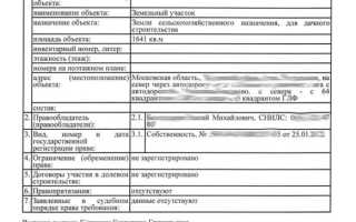 Документ на собственность квартиры образец