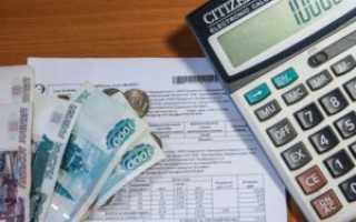 Выписка о задолженности по коммунальным платежам