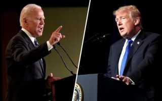 Выборы президента США 2020 кандидаты дата выборов в Америке