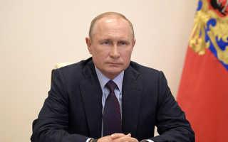 Путин продлил карантин в россии
