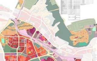 Градостроительный план красноярска